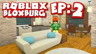 Bloxburg #2 - CREATING A NEW INTERIOR (Roblox Welcome To Bloxburg)