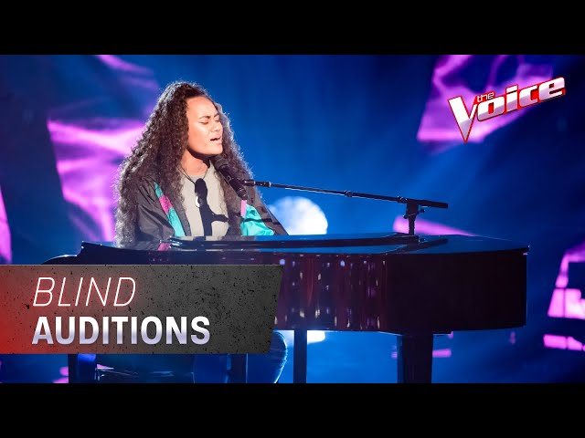 The Blind Auditions: Sapphire Tamalemai Sings 'Runnin' | The Voice Australia 2020 - The Voice Australia
