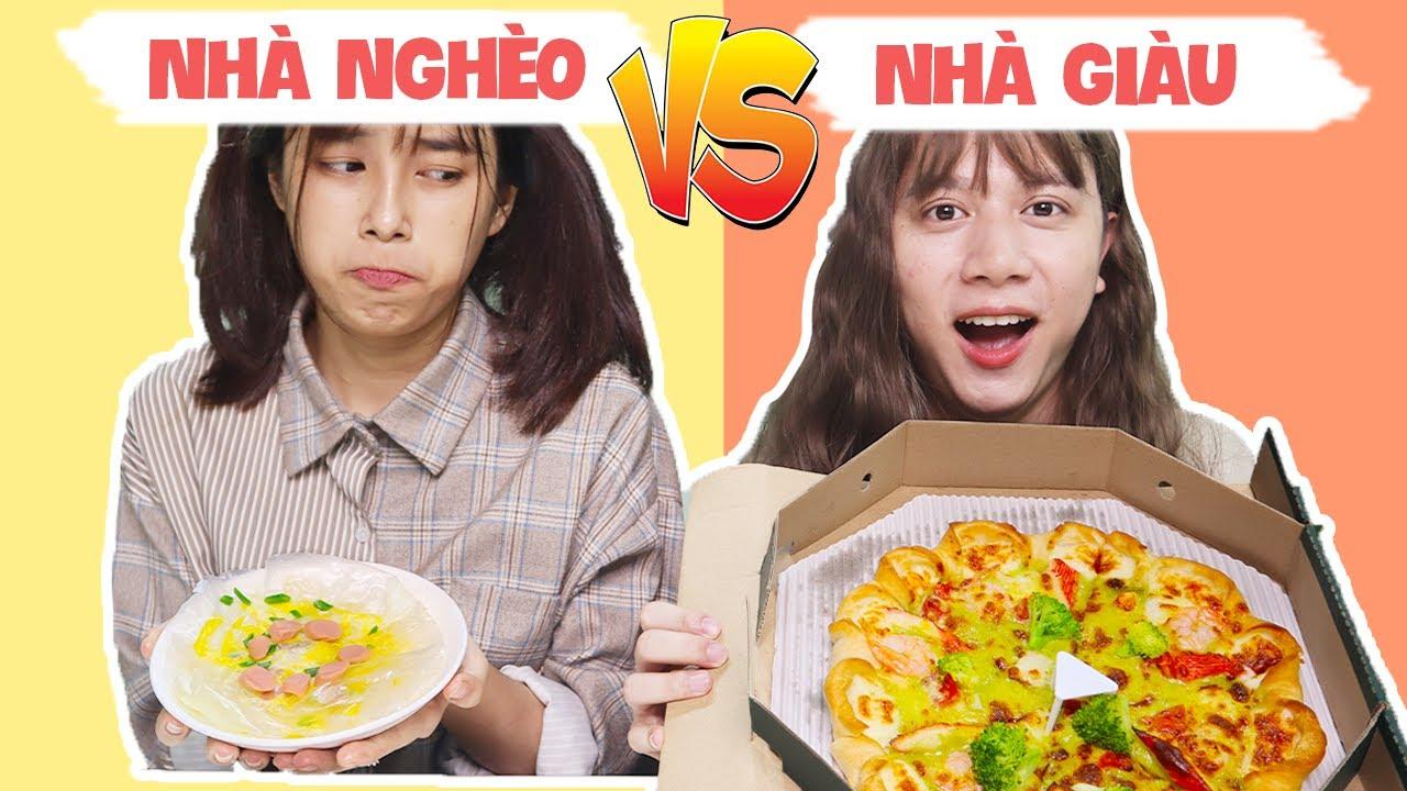 Pizza Nhà Nghèo VS Pizza Thượng Hạng – Bốn Lồng Lộn Tranh Chức Lớp Trưởng !!!