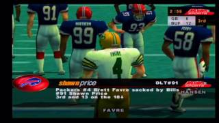 NFL Quarterback Club 2000 Packers vs Bills Part 2