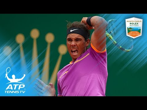 Five Great Rafael Nadal Shots at the Monte-Carlo Masters