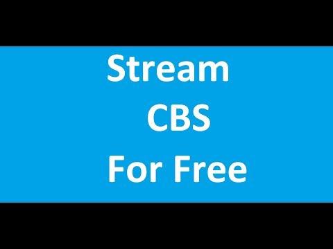 Stream CBS For Free
