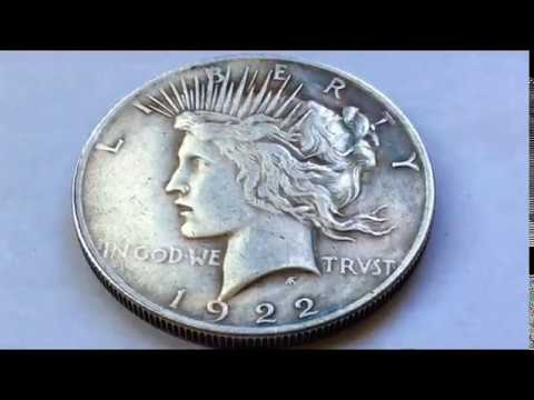 1922 PEACE SILVER ONE DOLLAR
