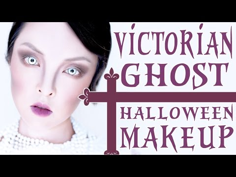 Ghost Makeup Halloween Tutorial | Victorian Ghost - YouTube