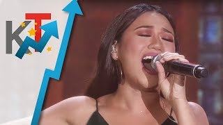 Morissette will wow you with her rendition of Air Supply's Just As I Am