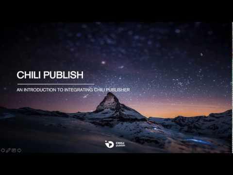 Integration of CHILI publisher into my web portal