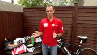 Essential Kit For Triathlon With Olympian,  Marc Jenkins