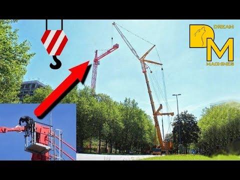 LIEBHERR LTM 1350-6.1 MOBILKRAN MIT GITTERSPITZE / mobile crane with lufffing jib