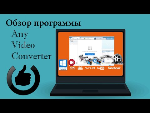 Бесплатный конвертер видео Any Video Converter