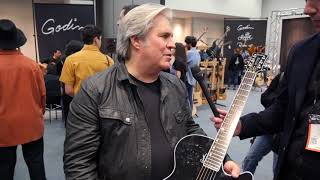 Doyle Dykes - Godin Multiac at NAMM 2018