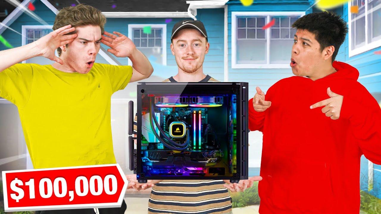 Team New Age MANSION $100,000 Gaming Setup Tours! (Slick, Muz, Looter, & MORE)