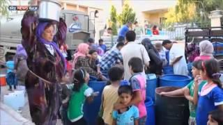 حلب عطشى