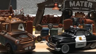 """Disney Pixar's Cars """"The Prisoner"""" Remake • Stop Motion 🚓"""