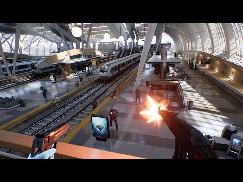 Virtual Reality Shooters and 'Bullet Train' with Epic Games' Tim Sweeney!