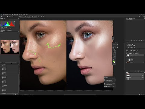 Learn From A High End Retoucher | Retouching Critique # 1| Learn Retouching | Retuching Tutorial
