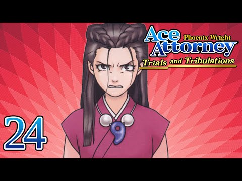 PURE EVIL - Let's Play - Phoenix Wright: Trials and Tribulations - 24 - Playthrough