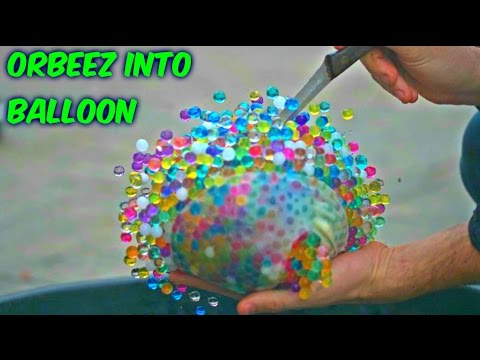 Thumbnail: What Happens If You put Orbeez into Balloon?