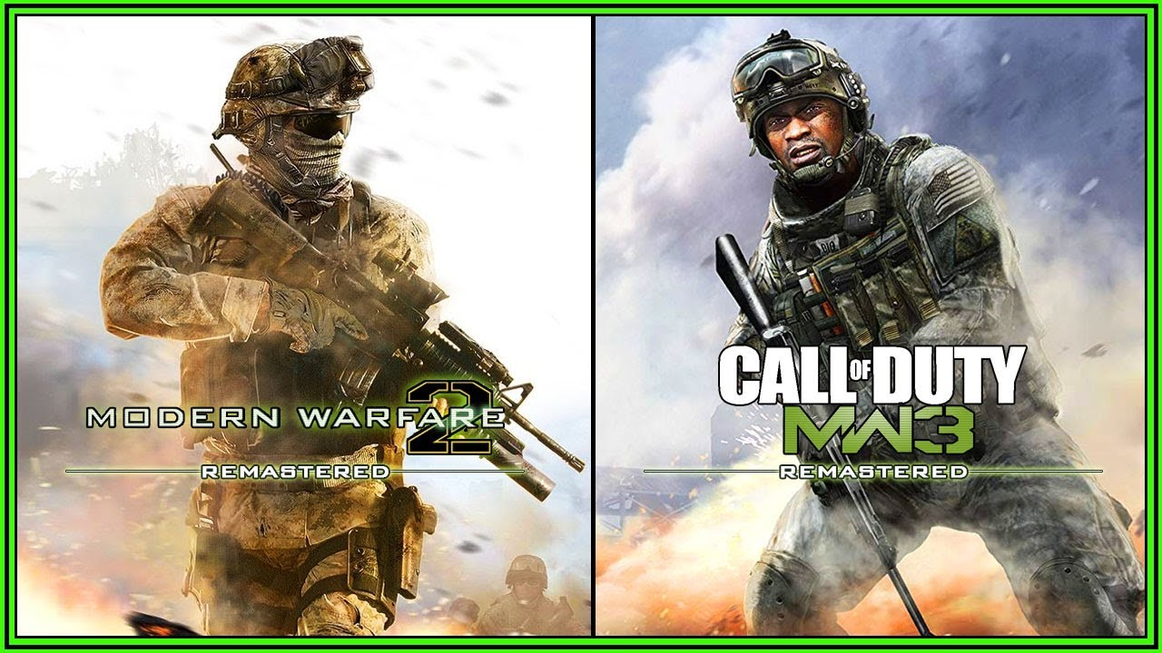 Mw2 And Mw3 Remastered Coming In 2019 More Modern