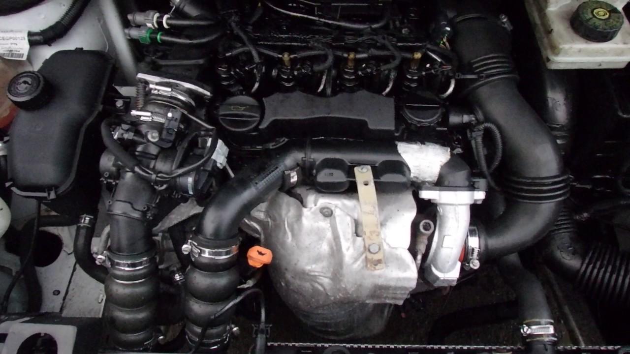 Двигатель Citroen для Berlingo (NEW) (B9) 2008 после - YouTube