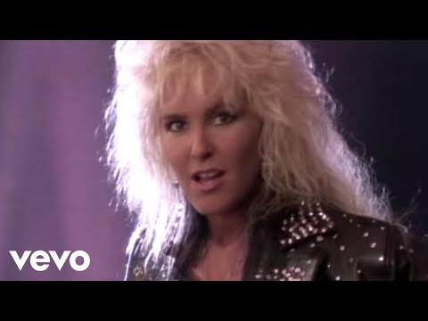 Lita Ford - Kiss Me Deadly (Official Video)
