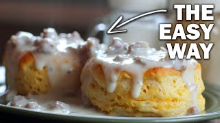 Biscuits and Gravy (BNG) | Bęst Camping Breakfast