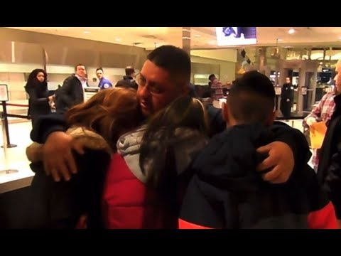 Family say emotional goodbye to father deported to Mexico