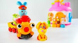 Мультики для маленьких: МАЛЫШИ. Цветные ключи. Игрушки для детей.
