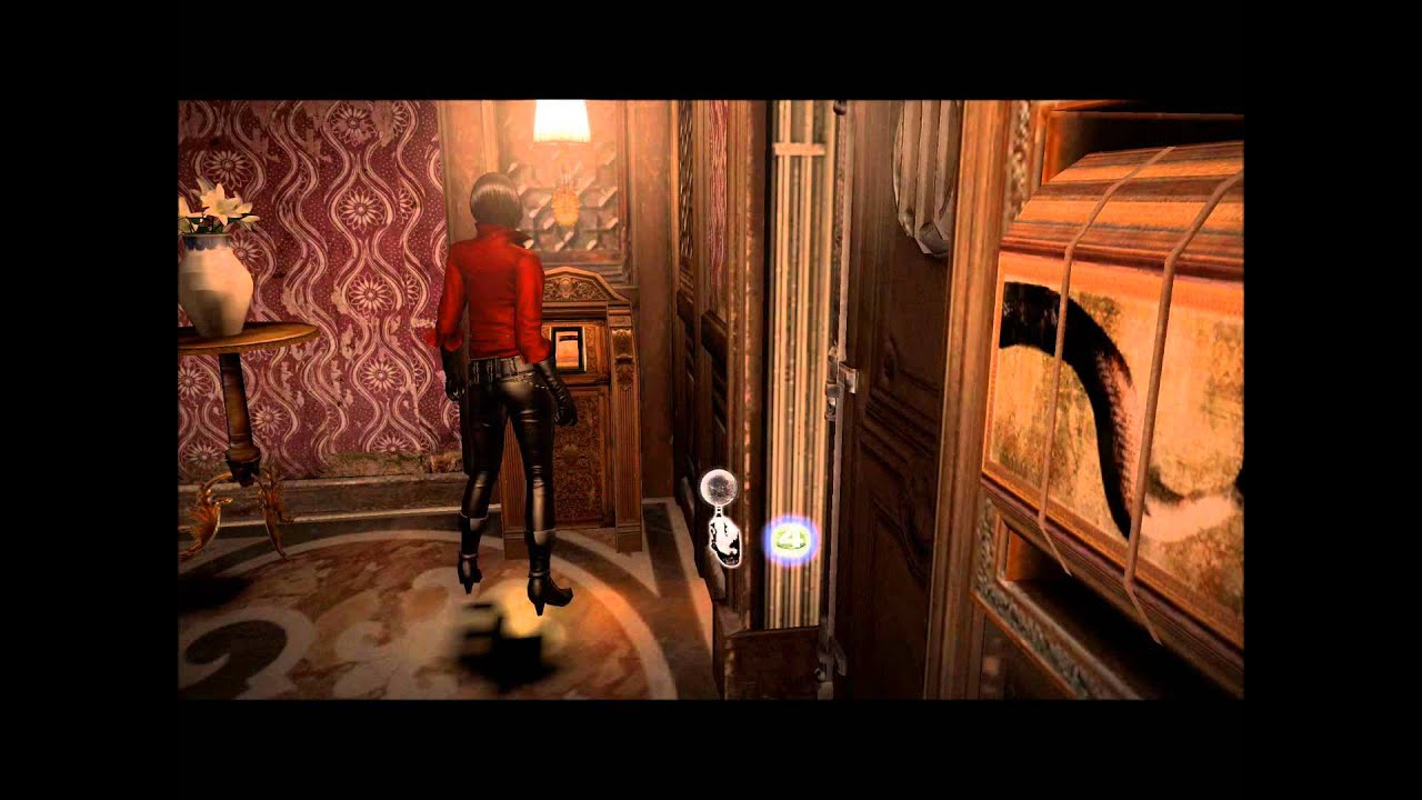 Resident Evil 6 Ada Submarine Painting Puzzle Combination 2