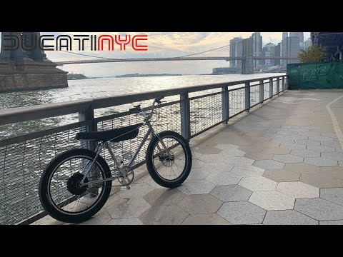 Zooz Bike 2.0 - Ripping an Electric Bicycle Through downtown Manhattan -  part 1 - v1096