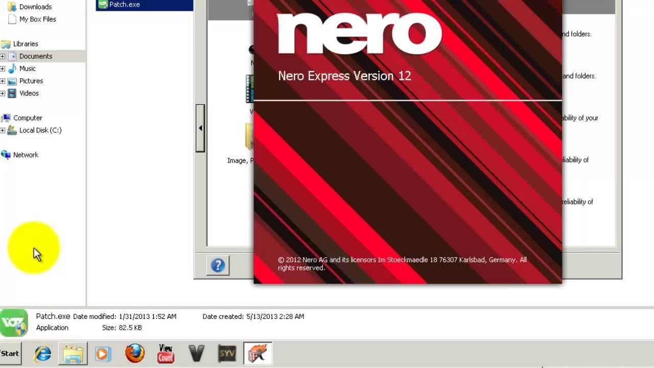 nero 12 serial key free download