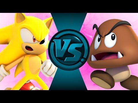 SUPER SONIC vs GOOMBA! Salt Assault!
