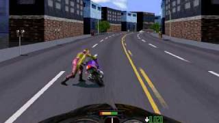 Road Rash - gameplay