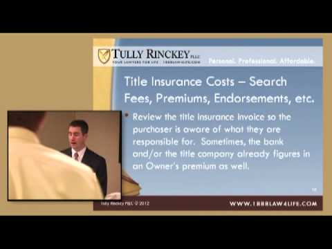 Continuing Legal Education - Real Estate Closings - Albany, NY Attorney Graig Zappia - Tully Rinckey