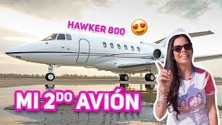 TE MUESTRO MI SEGUNDO AVIÓN PRIVADO ♥  Hawker 800 Jet Tour! El Mundo de Camila Guiribitey