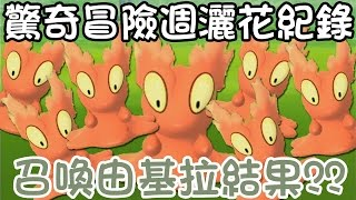 【Pokémon Go】想召喚由基拉結果熔岩蟲多到爆...驚奇冒險週灑花紀錄!