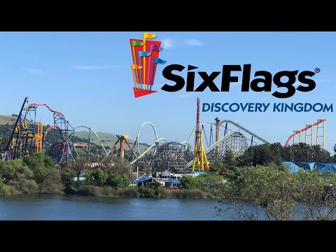 Six Flags Discovery Kingdom Tour & Review with The Legend