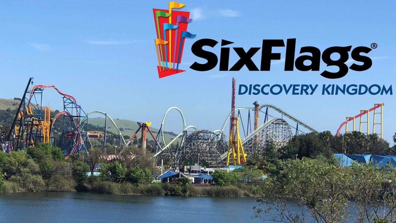 Six Flags Discovery Kingdom 2019 Tour & Review with The Legend
