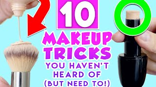 10 Makeup Tricks You Haven't Heard Of (But Need To!)