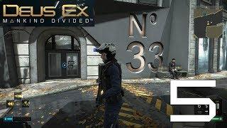 Deus Ex: Mankind Divided: Ep.5 - No 33 Apartment Block : Road to Platinum