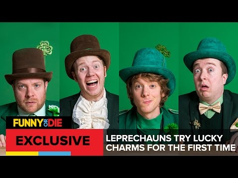 FOD Presents: Leprechauns Try Lucky Charms For The First Time
