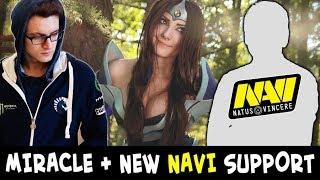 Miracle with NEW NaVi support Velheor — EPIC mid Mirana