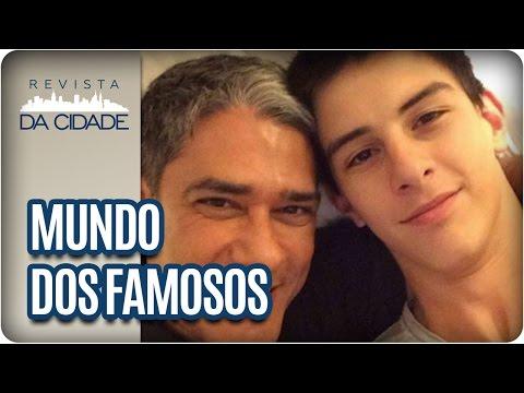 Acidente Do Filho Da Fátima E Bonner E Adeus A Vida Alves - Revista Da Cidade (04/01/16)