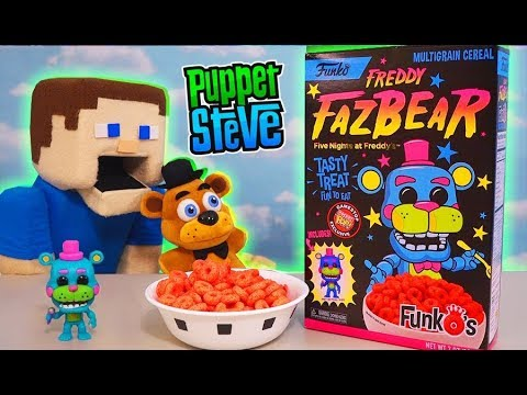 Five Nights at Freddy&39;s FREDDY FAZBEAR Funko&39;s CEREAL FNaF Unboxing