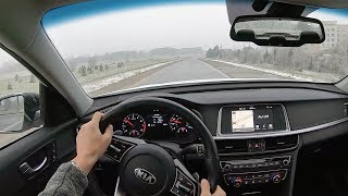 2019 Kia Optima SX Turbo - POV Test Drive (Binaural Audio)
