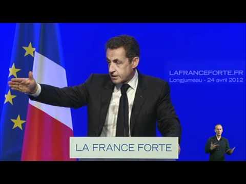 Discours de Nicolas Sarkozy à Longjumeau