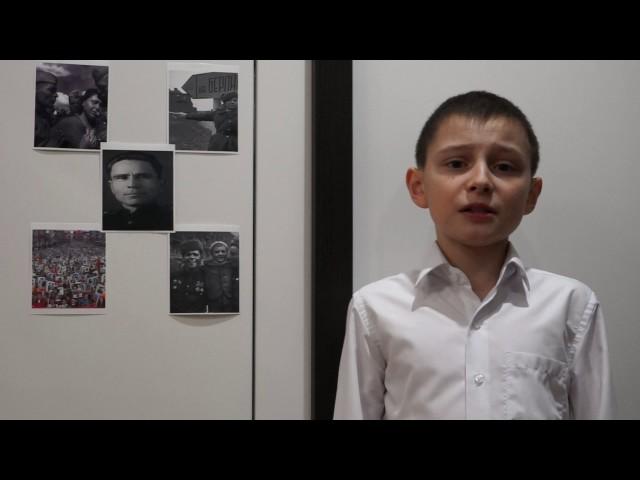 Изображение предпросмотра прочтения – ИльдарСайдашев читает произведение «22 июня 1941 года» С.П.Щипачёва