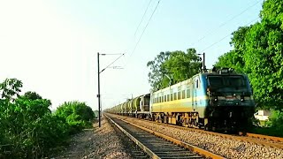 World's Largest Oil tanker train Petrol & Diesel: indian Railways