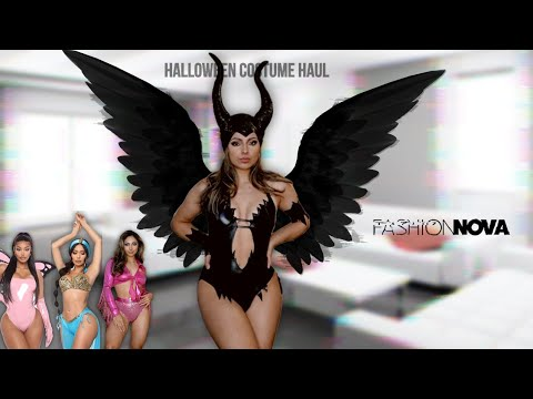 Rate My Halloween Costumes From Fashion Nova (costumes Haul)