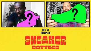 WWE Superstar Kofi Kingston vs Elite Sneaker Customizer Mache In A SneakerBattle | #LIFEATCOMPLEX