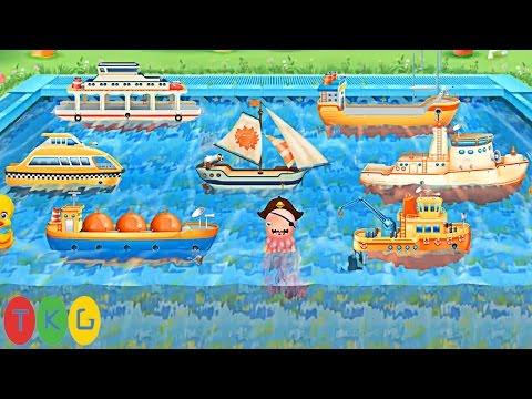 Lắp Ráp 7 loại Tàu, Thuyền cho trẻ em | Ships Full Sail | TKG